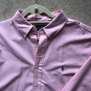 Ralph Lauren Classic Pink Oxford